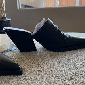 Zara Shoes - Zara booties geometric heel sz 39 (8) NEW